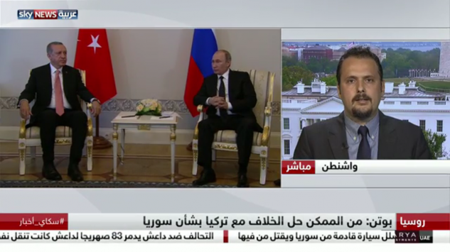 GPI News: GPI Analyst Cenk Karatas commented on Sky News Arabia TV about Turkey-Russia reducing tensions