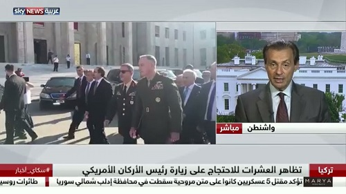 GPI News: GPI President comments on Sky News Arabia about US General Dunford's visit to Turkey
