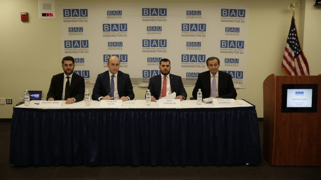 "GPI President Paolo von Schirach moderated ""Impact of the Failed Coup on the Turkish Economy"" Panel convened by BAU"""