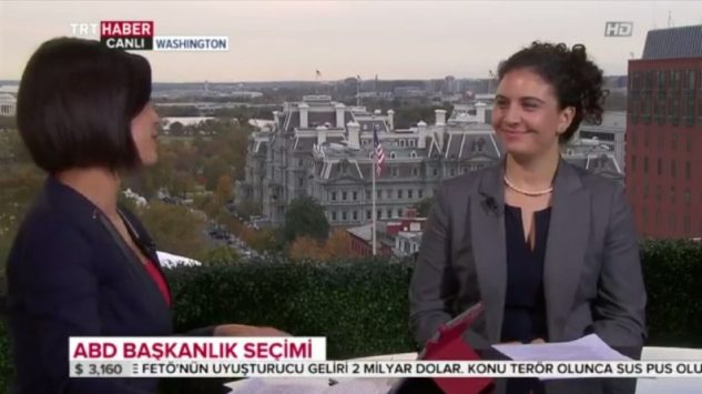 GPI Executive Director Deniz Karatas Commented on TRT Haber Channel about US Elections