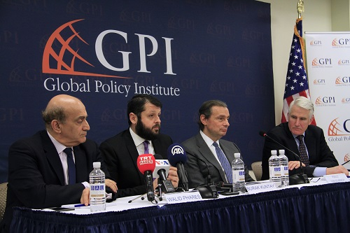 "GPI held a Panel Discussion: ""Turkey – US Relations: A Clean Slate?"""