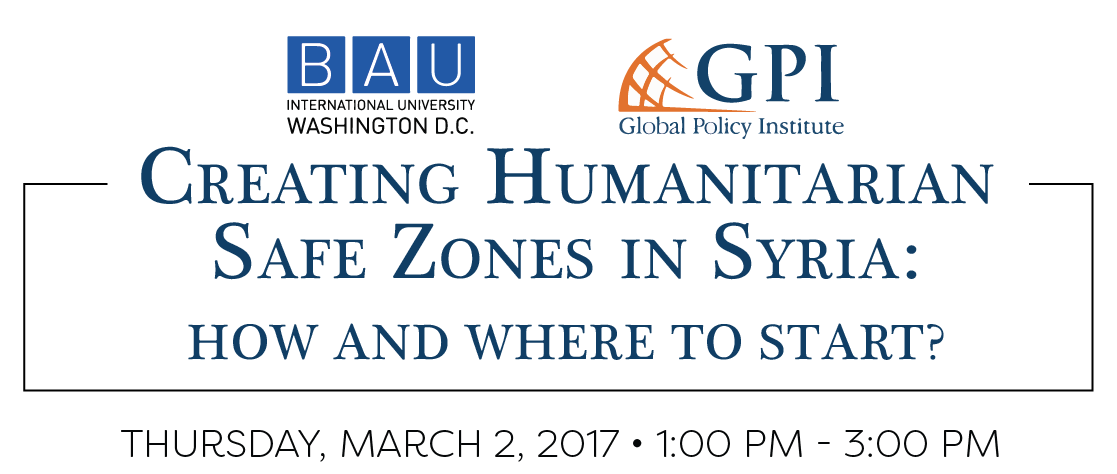 BAUI University & GPI Held a Panel Discussion on Safe Zones in Syria