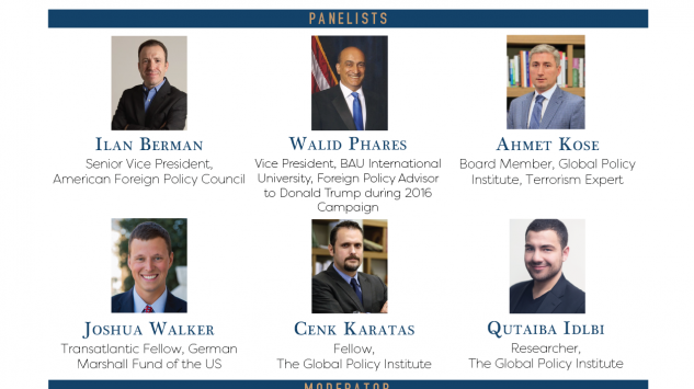 GPI held a Round Table Discussion: Agree to Disagree? Turkish and U.S. Policies on Syria