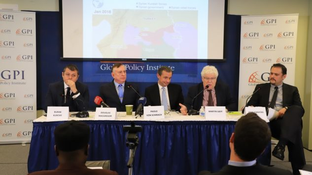 GPI Held a Panel Discussion titled: New Security Concerns at  the Turkey-Syria Border  …
