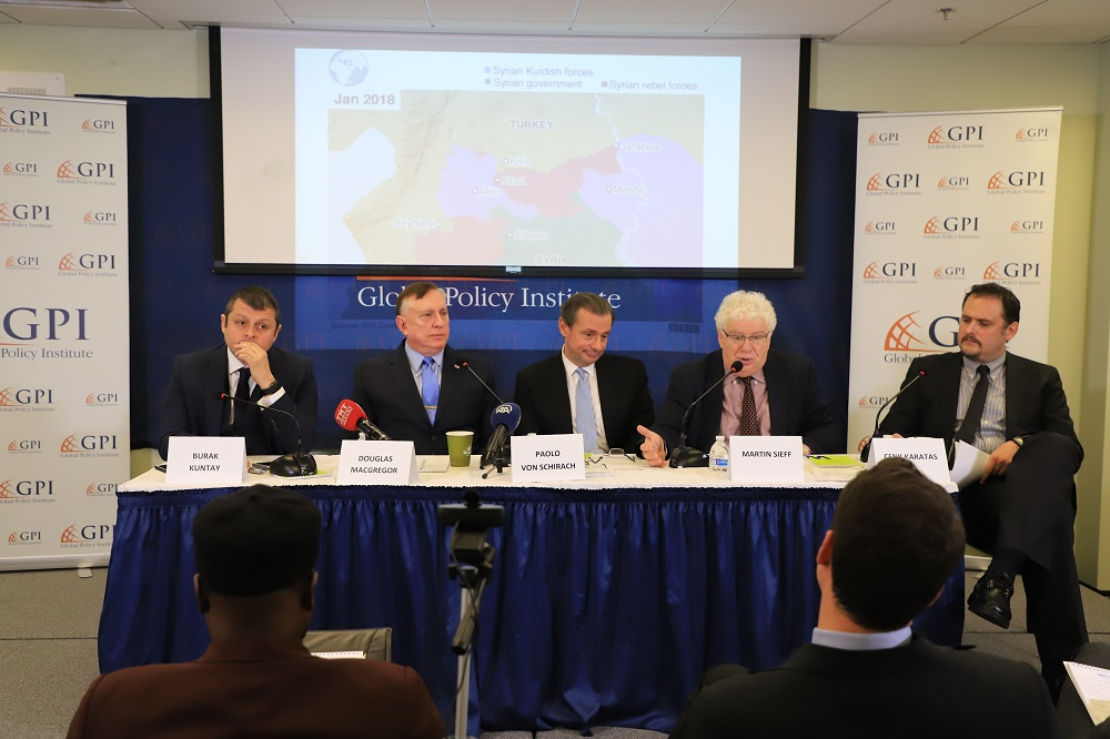 GPI Held a Panel Discussion titled: New Security Concerns at the Turkey-Syria Border