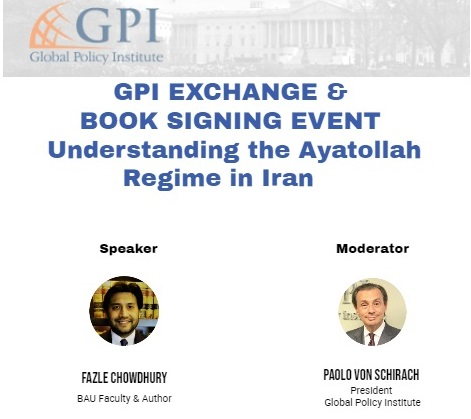 GPI Exchange & Book Signing Event: Understanding the Ayatollahs regime in Iran